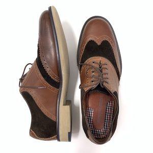 Johnston & Murphy Wingtip Oxford Dress Shoes 9.5